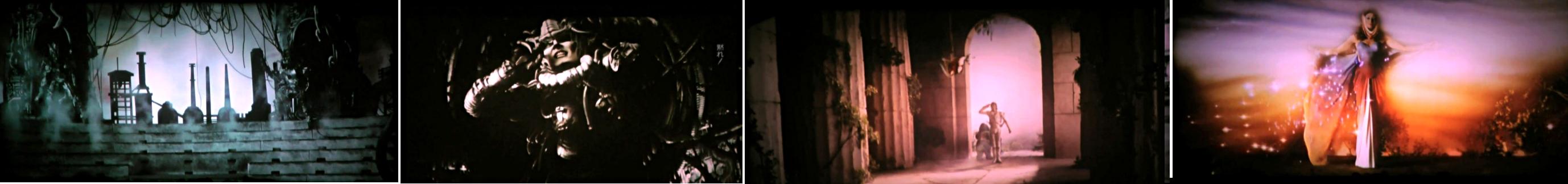 michael jackson dangerous album cover explained meaning erklärt symbols symbole bedeutung ryden art captain EO disney film
