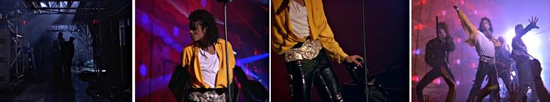 michael jackson dangerous album cover explained meaning erklärt symbols symbole bedeutung ryden art moonwalker come together concert yellow shirt