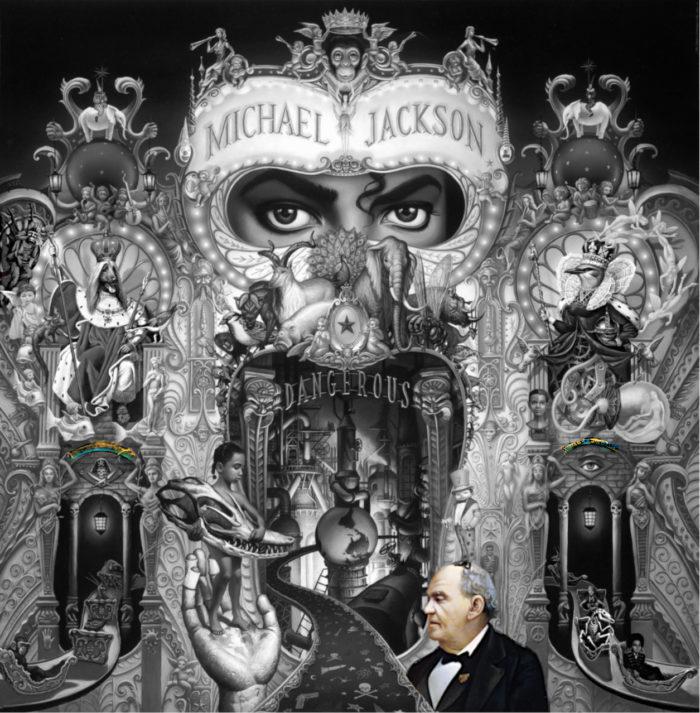 Michael Jackson Dangerous album cover exitus entrare barnum