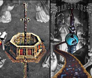michael jackson dangerous album cover explained meaning erklärt symbols symbole bedeutung genter altar bild van eycken brunnen des lebens welt