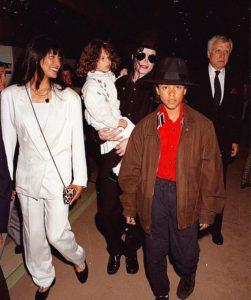 Michael Jackson June Chandler Lily Chandler Jordan Chandler 1993 Monaco
