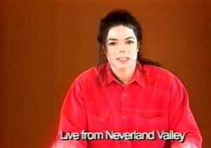 Michael Jackson ärgerlich