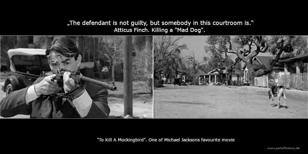 Atticus Finch To kill a mockinbird mad dog michael jackson D.A. Sneddon mad dog D.S.