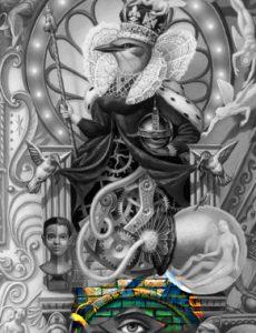 Michael Jackson Dangerous Album Cover explained erklärt art Bedeutung meaning Symbole Symbols ryden Vogel Königin Exitus