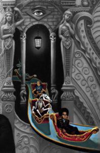 Michael Jackson Dangerous Album cover meaning explained erklärt bedeutung symbols symbole art ryden  ride bones Geisterbahn Gondel Macauley Culkin Exitus