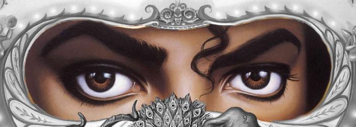 Michael Jackson Dangerous Cover Augen