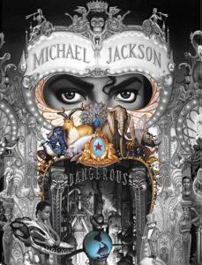 michael jackson dangerous album cover meaning explained erklärt bedeutung symbols symbole art ryden  animals world welt tiere can you feel it