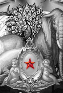 michael jackson dangerous album cover meaning explained erklärt bedeutung symbols symbole art ryden star pfau