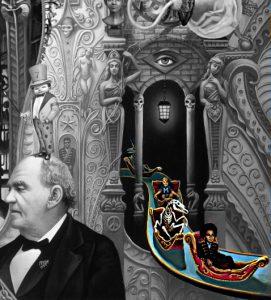 michael jackson dangerous album cover explained erklärt art Bedeutung meaning Symbole Symbols ryden barnum gondel children kids kinder