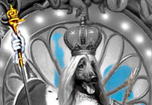 Michael Jackson Dangerous Album Cover explained erklärt art Bedeutung meaning Symbole Symbols Hund König Zepter Vogel Königin