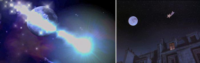 Michael Jackson Moonwalker 1988 moon Mond Komet Intro Ende ending explained erklärt art Bedeutung meaning Symbole Symbols ryden
