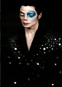 Michael Jackson 1999 Arno Barni Moonwalker Auge blau explained erklärt art Bedeutung meaning Symbole Symbols ryden