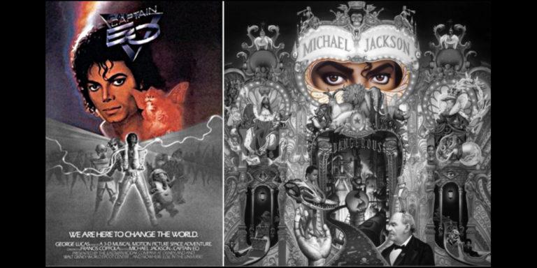Michael Jackson Captain EO Dangerous Cover Sun Break of Dawn