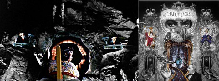 Michael Jackson  dangerous album cover explained erklärt art Bedeutung meaning Symbole Symbols ryden 1988 Leave Me Alone night dangerous album cover ride mouth teeth meaning symbol symbole bedeutung Höhle dunkel hunde anzüge kameras maul kiefer felsen gefahr dangerous maul dunkel kiefer