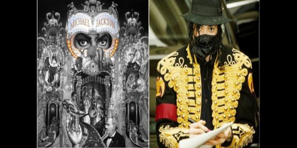 Michael Jackson Dangerous Mask Behin the Mask Twilight Zone cover