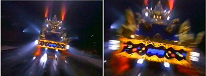 Jackson Michael Dangerous Pepsi Commercial Dreams 1993 auto truck lastwagen ende ending lights licht tod death explained erklärt art Bedeutung meaning Symbole Symbols ryden dangerous album cover art
