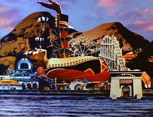 Michael Jackson Leave Me Alone Gigant Vergnügungspark Achterbahn Silhouette Gulliver island explained erklärt art Bedeutung meaning Symbole Symbols ryden dangerous album cover